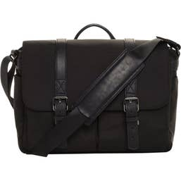 ONA Brixton Nylon Camera & Laptop Bag (Black)