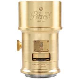 Lomography Petzval 85mm f/2.2 Art Lens Brass Nikon F Mount - Z230N