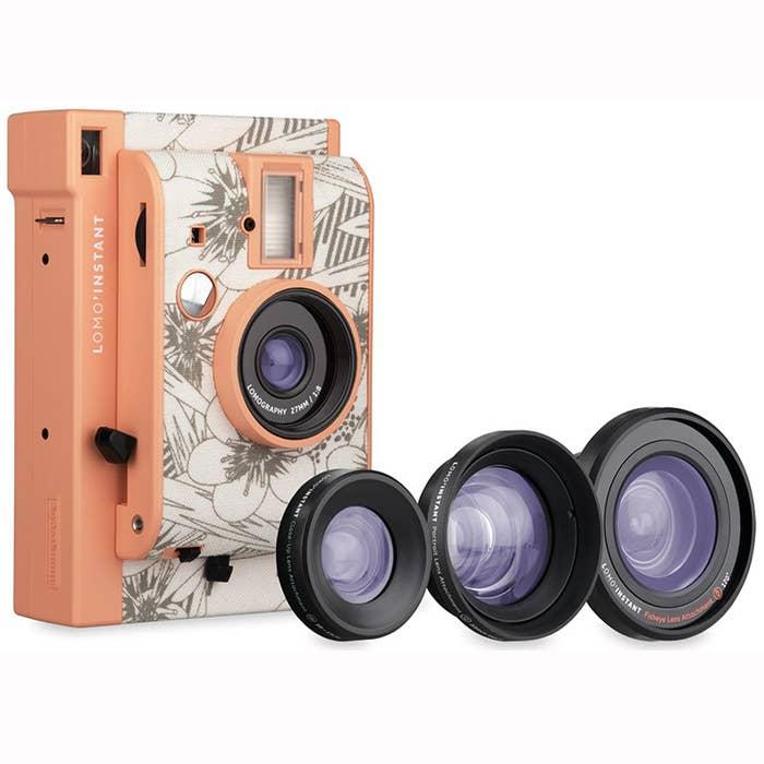 Lomography Lomo'Instant and 3 Lenses - Kyoto (LI800FLOWER)