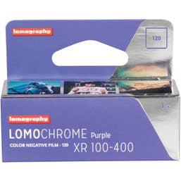 Lomography LomoChrome Purple XR 100 - 400 Colour Negative 120 Film