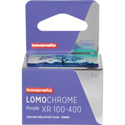 Lomography LomoChrome Purple XR 100 - 400 Colour Negative Film (135-36 Exposures)