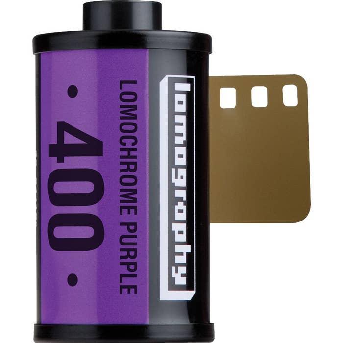 Lomography LomoChrome Purple XR 100 - 400 Colour Negative Film (135-36 Exposures)