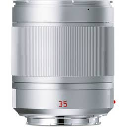 Leica Summilux-TL 35mm f/1.4 Aspherical Lens - Silver Anodised