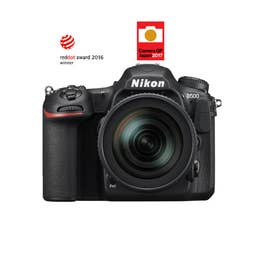 Nikon D500 DSLR Camera with AF 16-80mm Lens