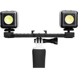 Lume Cube Dual Kit for GoPro Cameras (Gunmetal Grey)  -  LC-GPAC22