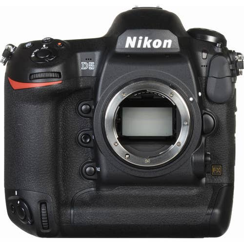 Nikon D5 DSLR Camera Body Only with Dual Compact Flash - VBA460BA