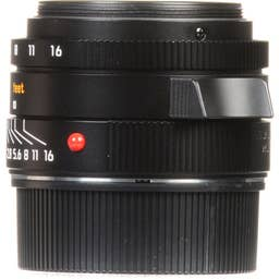 Leica Summicron-M 28mm f/2.0 ASPH Lens - Black