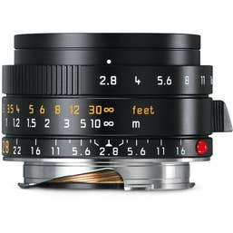 Leica Elmarit-M 28mm f/2.8 Aspherical Lens - Black