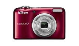 Nikon Coolpix A10 Digital Compact Camera - Red