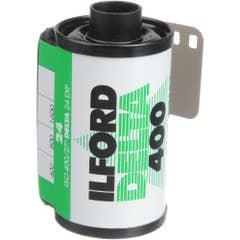 Ilford Delta 400  135-24 exp Professional Black & White 35mm Negative Film