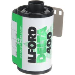 Ilford Delta 400  135-24 exp Professional Black & White 35mm Negative Film