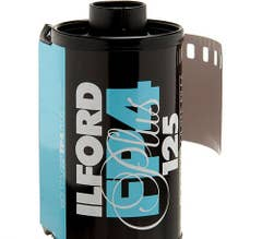 Ilford FP4 Plus Black and White Negative Film (35mm Roll Film, 24 Exposures)