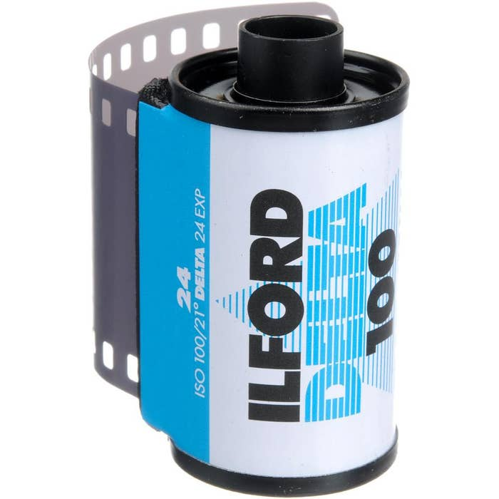 Ilford Delta 100  135-24 exp Professional Black & White 35mm Negative Film