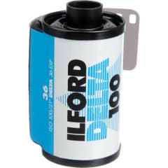 Ilford Delta 100  135-36 exp Professional Black & White 35mm Negative Film