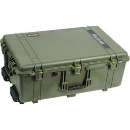 Pelican 1650 Case with Foam (Olive Drab Green)