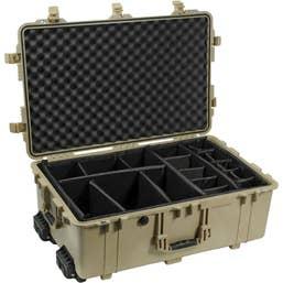 Pelican Case 1650 Dividers Desert Tan   (1654DTD)