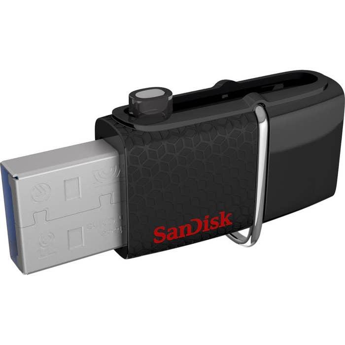 SanDisk Ultra Dual USB Drive 3.0 128GB