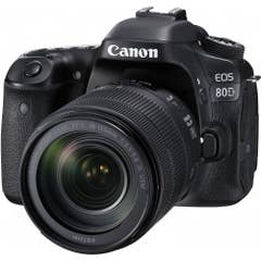 Canon EOS 80D DSLR Camera with 18-135mm NANO IS USM Lens