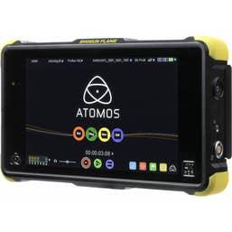 Atomos Shogun Flame Kit : includes 7 inch 4K HDMI Recording Monitor, Custom Yellow HPRC hard flight case and accessories