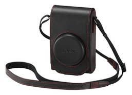 Panasonic DMW-PHS84XER Leather Full Case for DMC-TZ110
