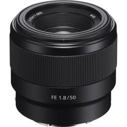 Sony FE 50mm f/1.8 Lens (SEL50F18F)