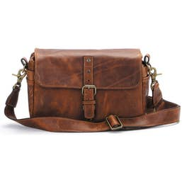 ONA Bowery (Leica Edition) - Italian Leather (Antique Cognac)