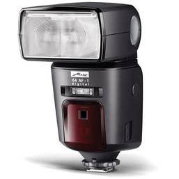 Metz mecablitz 64 AF-1 digital Flash for Olympus/Panasonic/Leica Cameras  (MTZ6431295)