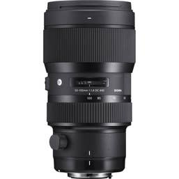Sigma 50-100mm f/1.8 DC HSM Art Lens for Canon