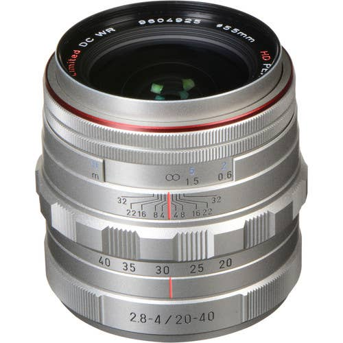 Pentax HD PENTAX-DA 20-40MM F/2.8-4 LTD Silver (23010)