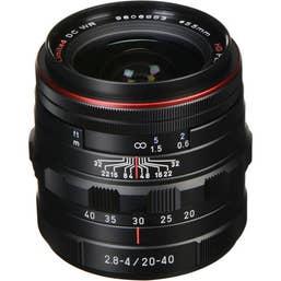 HD Pentax DA 20-40mm f/2.8-4 ED Limited DC WR Lens  (23000)