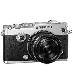 Olympus PEN-F Street Kit with 17mm F1.8 - Silver