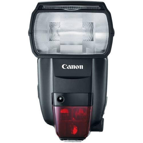 Canon 600EX II-RT Speedlite Flash with Wireless Radio Transmission