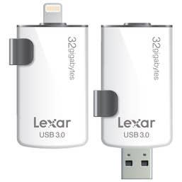 Lexar 32GB JumpDrive M20i USB 3.0 Flash Drive