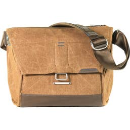 """Peak Design - The Everyday Messenger - Heritage Tan 13"""" - Limited stocks available."""
