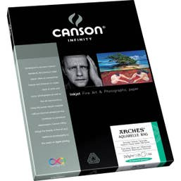 Canson Infinity Aquarelle Rag 240gsm A4 x 25 Sheets