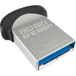 SanDisk 128GB Ultra Fit USB 3.0 Flash Drive (SDCZ43-128G-Q46)