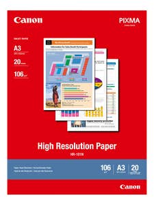 Canon High Resolution A3 Paper 20-sheets 110 gsm (HR-101NA3II)