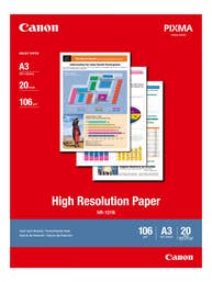 Canon High Resolution Paper A3 - 20 Sheets