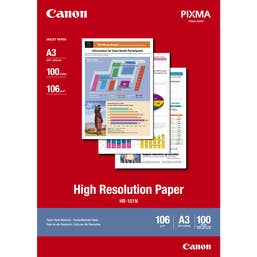 Canon High Resolution Paper A3 - 100 Sheets