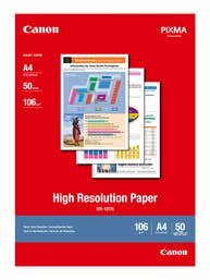 Canon High Resolution Paper A4 - 50 Sheets   (HR-101NA450)