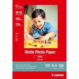"Canon Matte Photo Paper 6"" x 4""  120 Sheets  (MP-1014X6)"