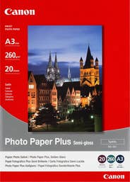 Canon Semi Gloss Photo Paper A3  20 Sheets  (SG201A3)