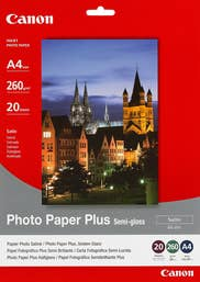 Canon Semi Gloss Photo Paper - A4  - 260 gsm - 20 Sheets