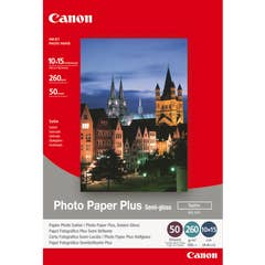 """Canon Semi Gloss Photo Paper 6"""" x 4""""  20 Sheets  (SG2014X6)"""