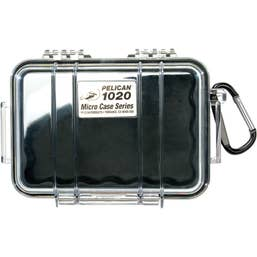 Pelican 1020 Micro Case - Clear with Black Liner