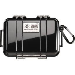 Pelican 1020 Micro Case - Black with Black Liner