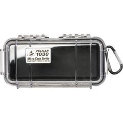 Pelican 1030 Micro Case - Clear with Black Liner