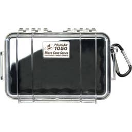 Pelican 1050 Micro Case - Clear with Black Liner