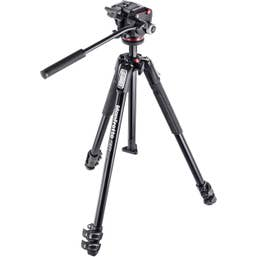Manfrotto 190X3 Three Section Tripod with MHXPRO-2W Fluid Head