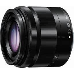 Panasonic LUMIX G VARIO 35-100mm f/4.0-5.6 ASPH. MEGA O.I.S. Lens (Black)